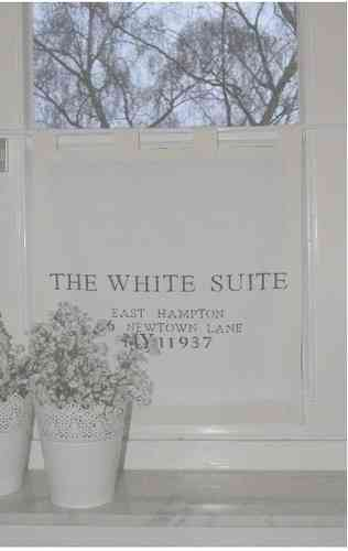 Gardine The white Suite